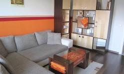 Wohnzimmermöbel in Ahorn und Wenge furniert