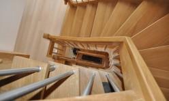 Treppehaus in Eiche